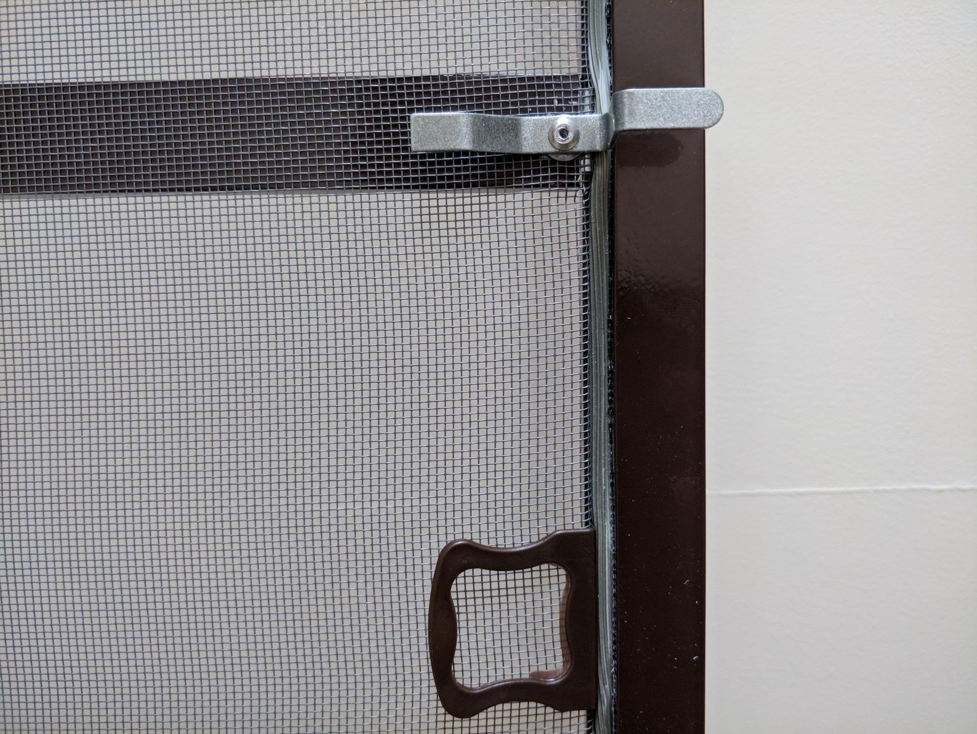 Металлические крепления для москитных сеток